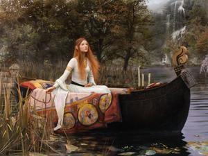 dame blanche,légendes du pays d'oc,lac,château en ruine