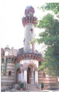 manoir caprice,antoni gaudi,sculpteur,architecte espagnol,casa el capricho