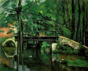le pont de maincy,paul cézanne,peinture