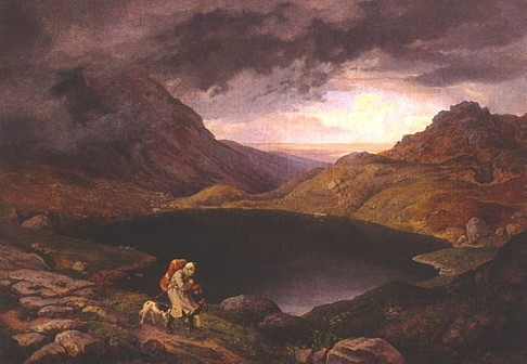 ludwig richter,peintre,dessinateur de voyages,illustrateur,paysagisme,romantisme