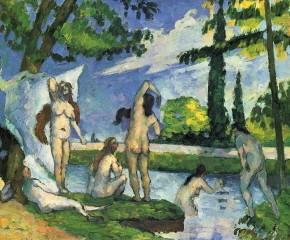 paul cézanne,pommes,nature morte aux pommes,baigneuses,cerisier