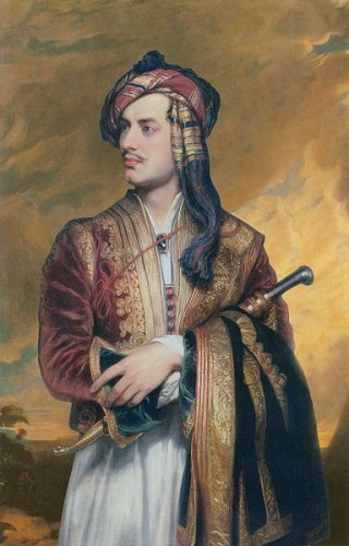 george gordon,lord byron,poète,pèlerinage de childe harold
