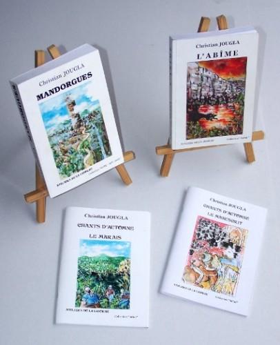 livres, Christian Jougla, Mandorgues, fantastique