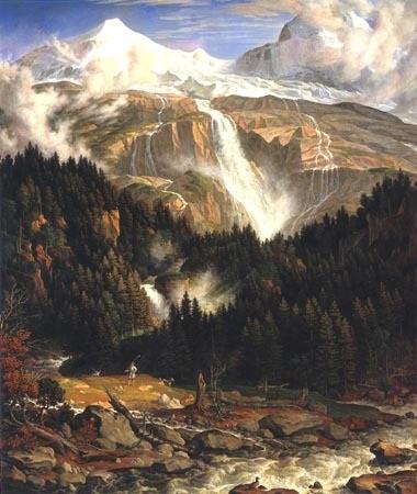 joseph anton koch,peintre,tableaux historiques,paysages,dessins