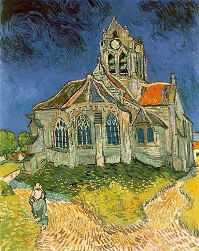 vincent van gogh,peintre,autoportrait de vincent van gogh,l'église d'auvers-sur-oise,portrait du docteur gachet