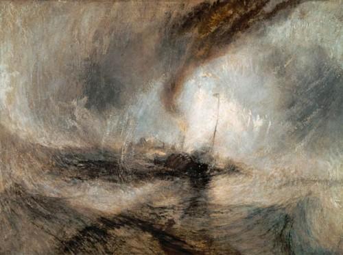 william turner,tempête de neige sur mer,peintre