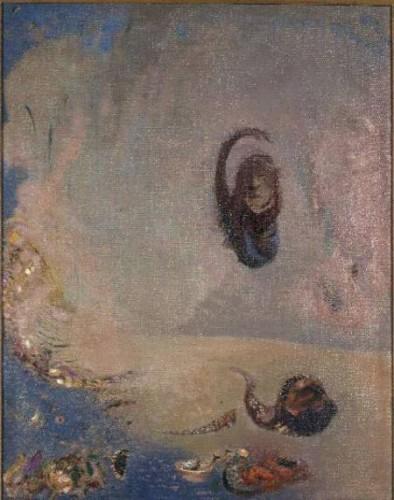 odilon redon,peintre,dessinateur,graveur,oannès,monstre mythique,fantastique