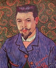vincent van gogh,peintre,portrait du docteur félix rey,théo van gogh