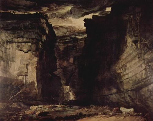 james ward,gordale scar,peintre,peinture romantique britannique