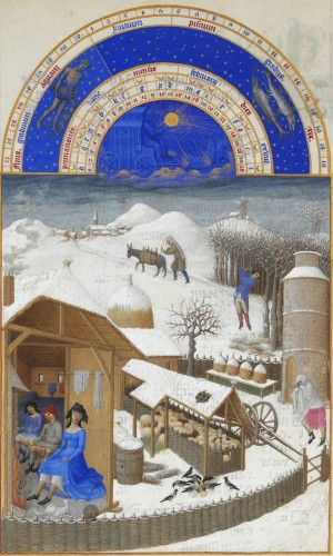 frères limbourg,très riches heures du duc de berry,peintres,miniaturistes
