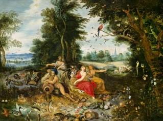 les quatre éléments,jan van kessel,peintre flamand,allégorie