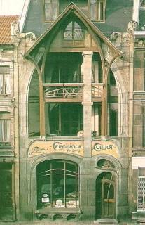 hector guimard,art nouveau,maison coilliot à lille,architecte,décorateur