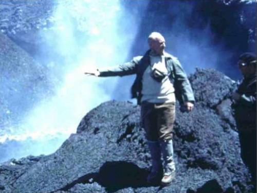 haroun tazieff,géologue,volcanologue,etna,éruption volcanique,sismographes,institut international de recherches volcanologiques